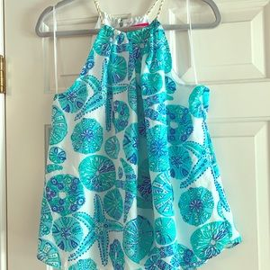 Lilly for Target Sea Urchin For You Halter Top - M